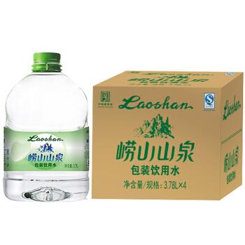laoshan 崂山 包装饮用水 3.78L*4桶 整箱装