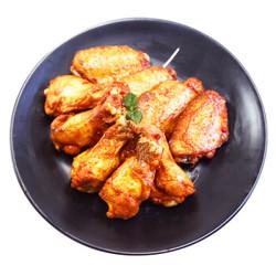 上鲜 奥尔良鸡翅1kg(翅中500g+翅根500g )出口日本级 鸡翅中鸡翅膀鸡翅根 烤翅炸鸡翅 烧烤食材清真食品 *3件