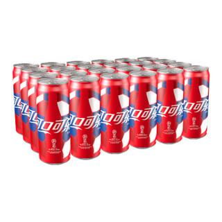Coca-Cola 可口可乐 碳酸饮料 330ml*24罐