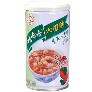 WAHAHA 娃哈哈 八宝粥 木糖醇味 360g*12罐