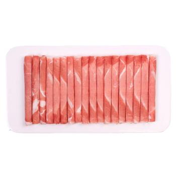 草原宏宝 内蒙古原切羔羊肉片 500g/袋 国产无公害谷饲羊肉 羊肉卷 火锅食材 *3件