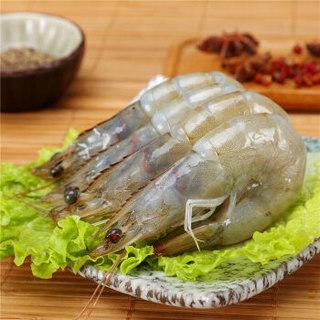 Seamix 禧美海产 厄瓜多尔白虾 (300g,15-20只)