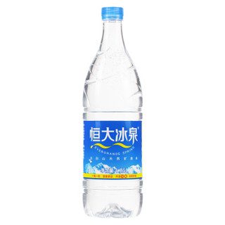 恒大冰泉 长白山天然矿泉水 1250ml*12瓶 整箱装