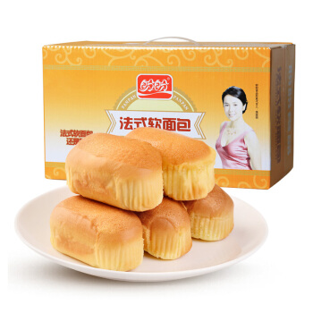 PANPAN FOODS 盼盼 法式软面包 奶香味 820g