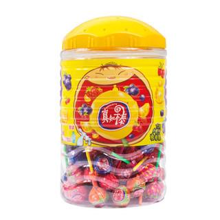 真知棒 棒棒糖 什锦水果味 108支 1020g/桶