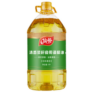 仙餐 清香菜籽食用调和油 5L