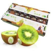 陕西徐香绿心猕猴桃 22个板盒装 单果90-110g 新鲜水果 生鲜礼盒