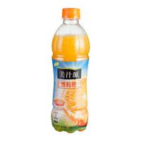 美汁源 果粒橙 420ml*12瓶 含果肉 果汁饮料 可口可乐荣誉出品