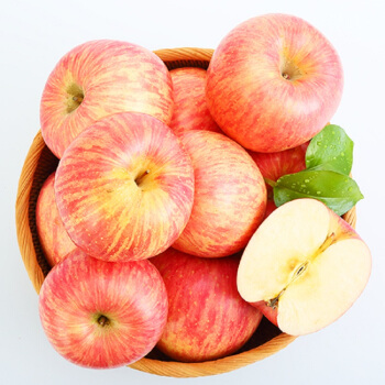 京觅 烟台红富士苹果 12个 (2.6kg)
