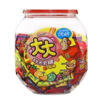 DOUBLEMINT 绿箭 泡泡糖约150片 (罐装、什锦味、675g)