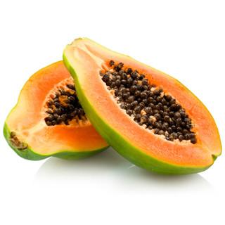 海南精选红心木瓜 2个装 单果重约800-1000g 新鲜水果