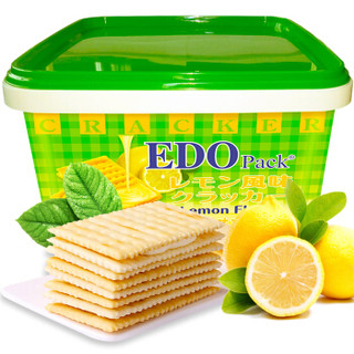 EDO Pack 夹心饼干 柠檬风味 600g