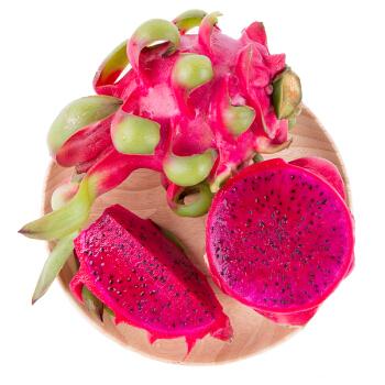 越南进口红心火龙果 4个装 单果约330-420g 新鲜水果