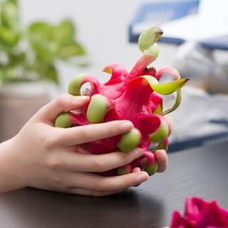越南进口红心火龙果 3个装 单果约330-420g 新鲜水果