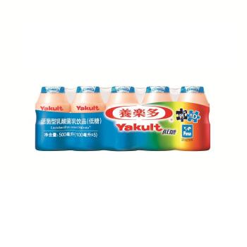 Yakult 养乐多 活菌型乳酸菌饮料(低糖)100ml*5瓶