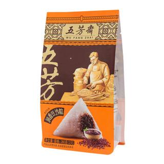 WU FANG ZHAI 五芳斋 五芳斋 中华老字号 端午节粽子 嘉兴特产 润香豆沙粽280g (润香、280g、散装)