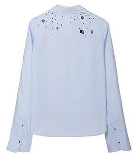 Lily SMART系列 117349C4911 女士条纹衬衫