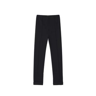 Lily 118229C5908 女士休闲裤 (黑色、M)