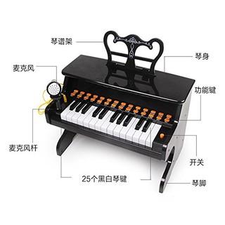 kavar 米良品 儿童益智多功能25键小钢琴