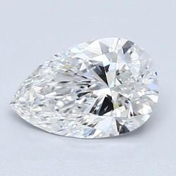 Blue Nile 1.00 克拉梨形钻石(切割VG/成色D/净度VS2)