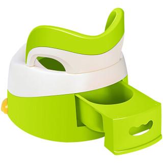 babyhood 淘气鸭 儿童坐便器 (绿色)