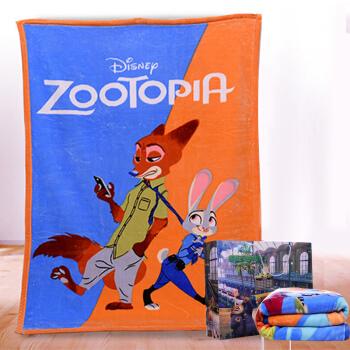 DisneyBaby 迪士尼宝宝 DZYS1111004 婴儿毛毯双层加厚礼盒装 粉色 140*110cm