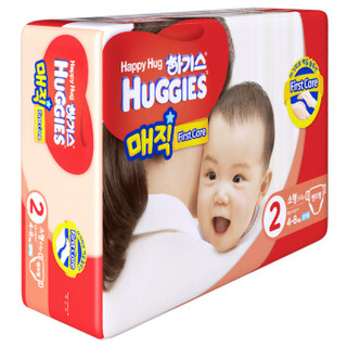 HUGGIES 好奇 魔术系列 男宝宝纸尿裤 S64片(韩国原装进口)