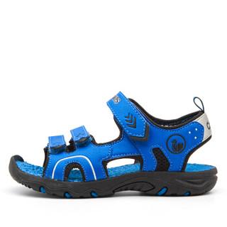 Camkids  86771107 男童沙滩凉鞋 海洋蓝/黑色 37码