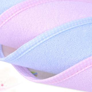 Elepbaby 象宝宝 婴幼儿竹纤维防水围嘴 ( 粉色、六条组合装)