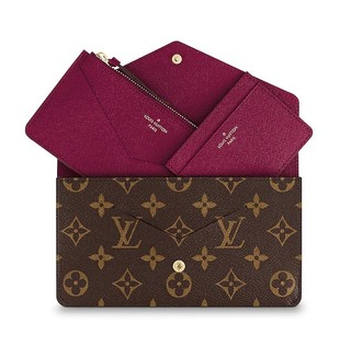 LOUIS VUITTON 路易威登 Jeanne M62155 三合一长款手拿包