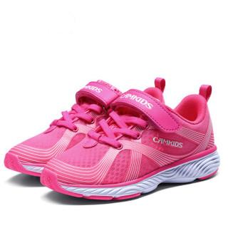 Camkids 86670256 儿童休闲运动鞋  樱红/标准白 36码