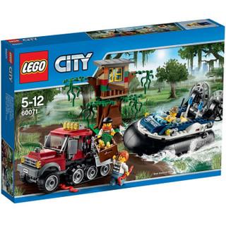 LEGO 乐高 City 城市系列 气垫船大追捕