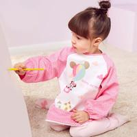 DisneyBaby 迪士尼宝宝 354482CR90 宝宝饭衣防水 玫红 1-2岁