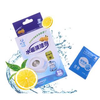 小白熊 (Snow Bear) 水垢清洁剂 热水壶除垢剂 09009 每盒内含20小包
