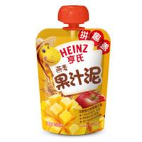 Heinz 亨氏 燕麦果汁泥 120g