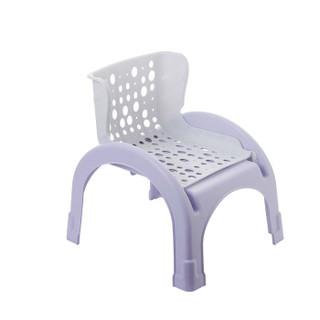 小白熊 婴儿洗头椅 (紫色)