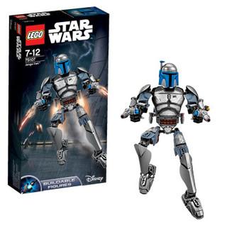 LEGO 乐高  Star Wars 星球大战系列 75107 星战 詹戈·费特
