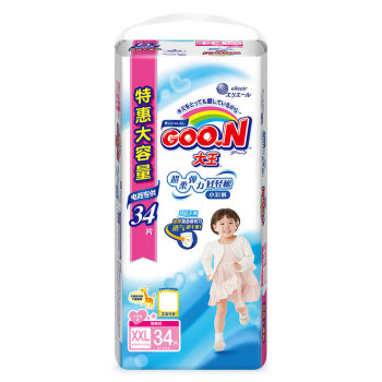 GOO.N 大王 婴儿拉拉裤 (XXL号、32片)