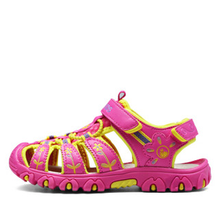 Camkids 86771316 女童凉鞋  蜜桃红/柠檬黄/丁香紫 36码
