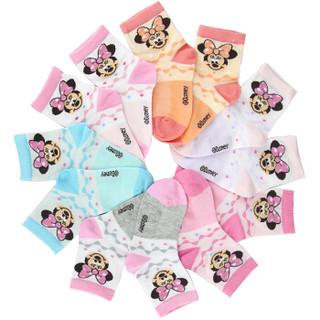 Disney 迪士尼 6612 儿童棉袜 6双装 20-22cm 8-10岁