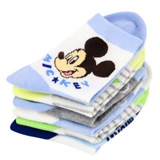 Disney 迪士尼 6614 儿童棉袜 6双装 16-18cm 4-6岁