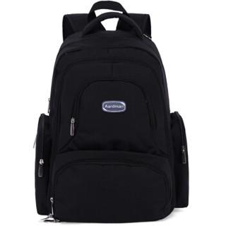 aardman妈咪包多功能大容量双肩妈妈包待产包双肩背包HY-1709黑色