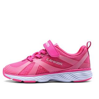 Camkids 86670256 儿童休闲运动鞋  樱红/标准白 37码