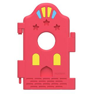 棒棒猪(BabyBBZ)安全围栏 婴儿爬学步栅栏 儿童爬行安全防护栏 围栏单片(红色)