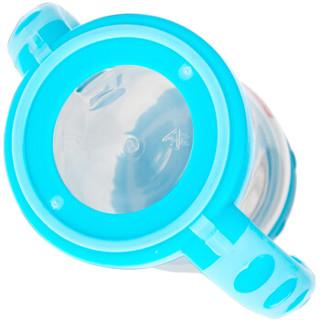 Fisher-Price 费雪 宽口径PP奶瓶  180ML  蓝色