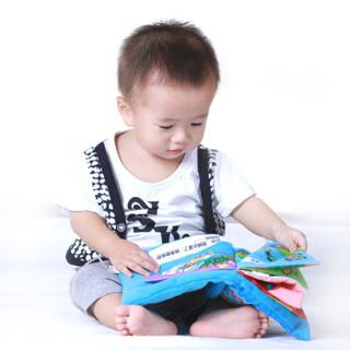 LALABABY/拉拉布书 宝宝迷你枕头书 婴儿布书 小鸭子情感故事 我会做什么