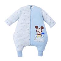 京东PLUS会员 : DisneyBaby 迪士尼宝宝 DA535BR20N0190 婴儿夹棉分腿睡袋 *3件