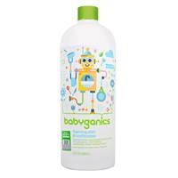 甘尼克宝贝 babyganics 奶瓶餐具清洁剂 补充装 无香 946ml *2件
