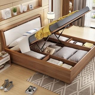 A家家具 A002 高箱储物床 1.5m