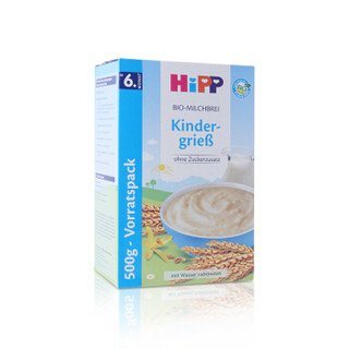 HiPP 喜宝 有机牛奶小麦米粉 (500g)